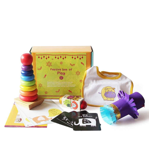 The Nestery: Shumee - FESTIVE BOX OF PLAY FOR INFANTS (AGE 0+)
