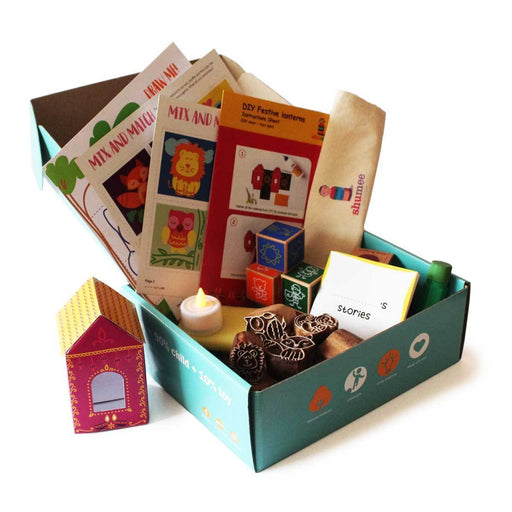 The Nestery: Shumee - FESTIVE BOX OF PLAY FOR PRESCHOOLERS (AGE 4+)