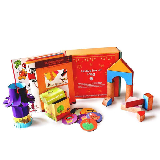The Nestery: Shumee - FESTIVE BOX OF PLAY FOR TODDLERS (AGE 2+)