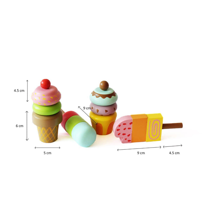 The Nestery: Shumee - Ice Cream Magnetic Set