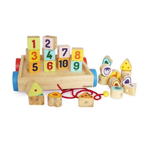 The Nestery: Shumee - Number And Shapes Block Buggy