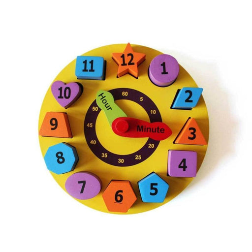 The Nestery: Shumee - Shape Sorting Clock