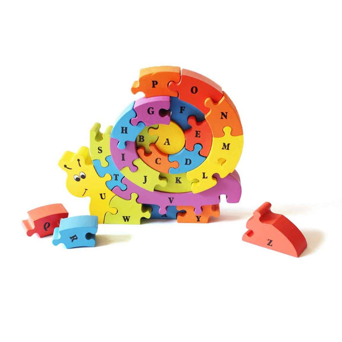 The Nestery: Shumee - Snazzle - The Rainbow Snail Puzzle