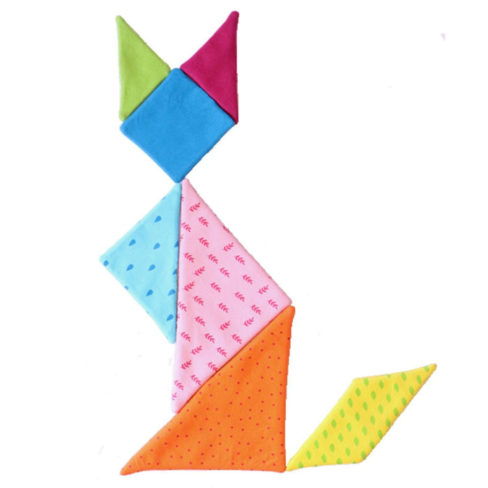 The Nestery: Shumee - Toddler Tangram Chinese Puzzle (7 Pcs)