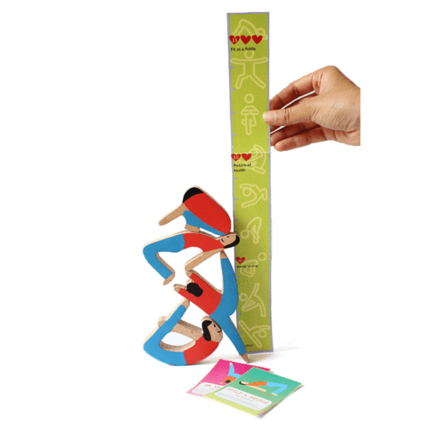 The Nestery: Shumee - TOWERING YOGIS - A BALACING GAME