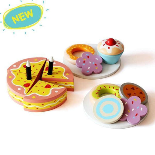 The Nestery: Shumee - Wooden Dessert Set
