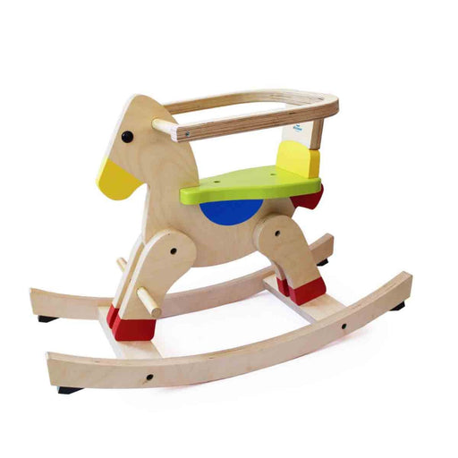 The Nestery: Shumee - Wooden Rocking Horse