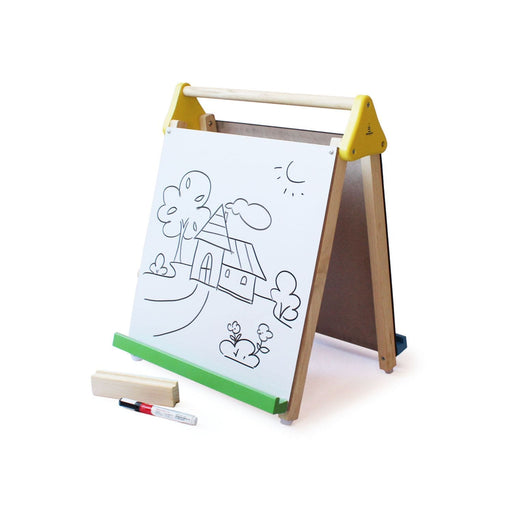 The Nestery: Shumee - Wooden Table-Top 3-In-1 Drawing Board