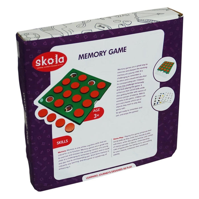 The Nestery: Skola - MEMORY GAME
