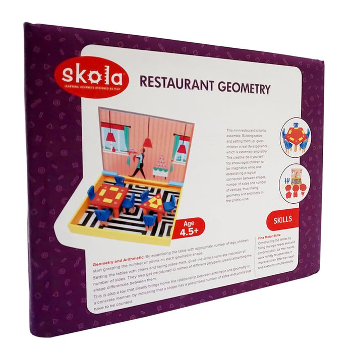 The Nestery: Skola - RESTAURANT GEOMETRY