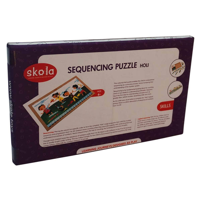 The Nestery: Skola - SEQUENCING PUZZLE HOLI