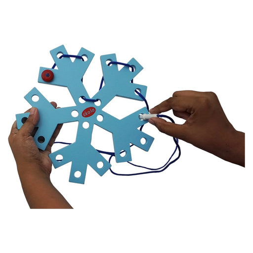 The Nestery: Skola - THREADING SNOWFLAKE