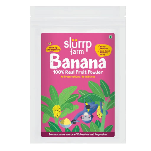 The Nestery: Slurrp Farm - Banana Powder