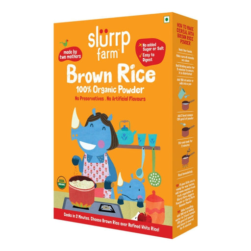 The Nestery: Slurrp Farm - Organic Brown Rice Powder