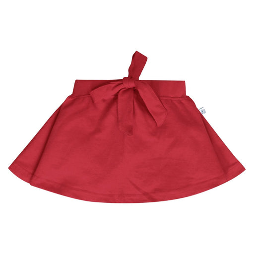 The Nestery : So Little - Red Circular Skirt