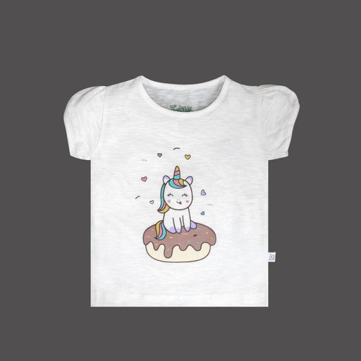 The Nestery : So Little - Unicorn Printed T-Shirt