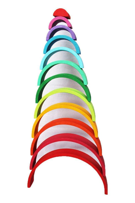 RAINBOW STACKER (COLOURED) - 12 PIECE