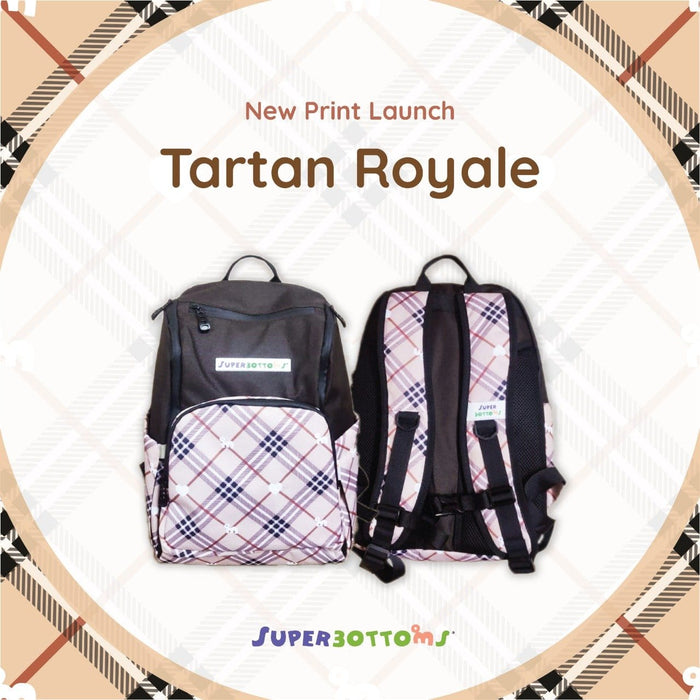 The Nestery: Superbottoms - Backpack - Tartan Royale
