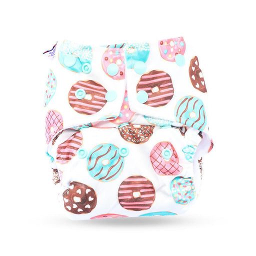 The Nestery: Superbottoms - Reusable Pocket Cloth Diaper - Donuts