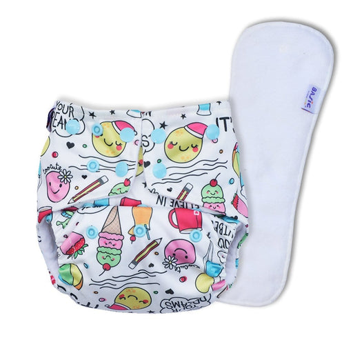 The Nestery: Superbottoms - Reusable Pocket Cloth Diaper - Doodles