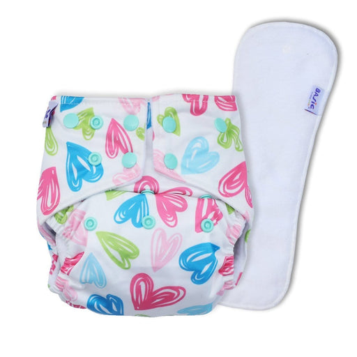 The Nestery: Superbottoms - Reusable Pocket Cloth Diaper - Hearts
