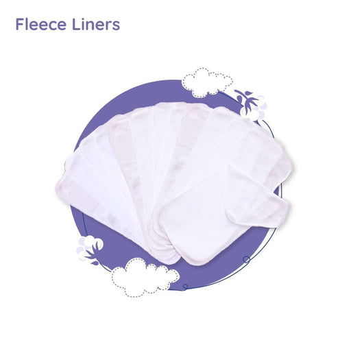 The Nestery: Superbottoms - Fleece Liners for Newborn Cloth Diapers