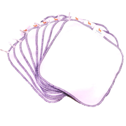 The Nestery: Supperbottoms - 100% ORGANIC COTTON MUSLIN REUSABLE WIPES/ NAPKINS