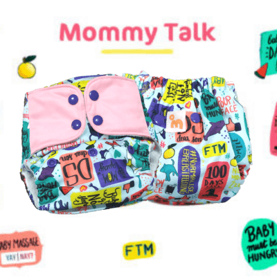 The Nestery: Supperbottoms - UNO ALL-IN-ONE REUSABLE CLOTH DIAPER WITH 2 ORGANIC COTTON DRY-FEEL SOAKERS [DAY & NIGHT USE] - MOMMY TALK
