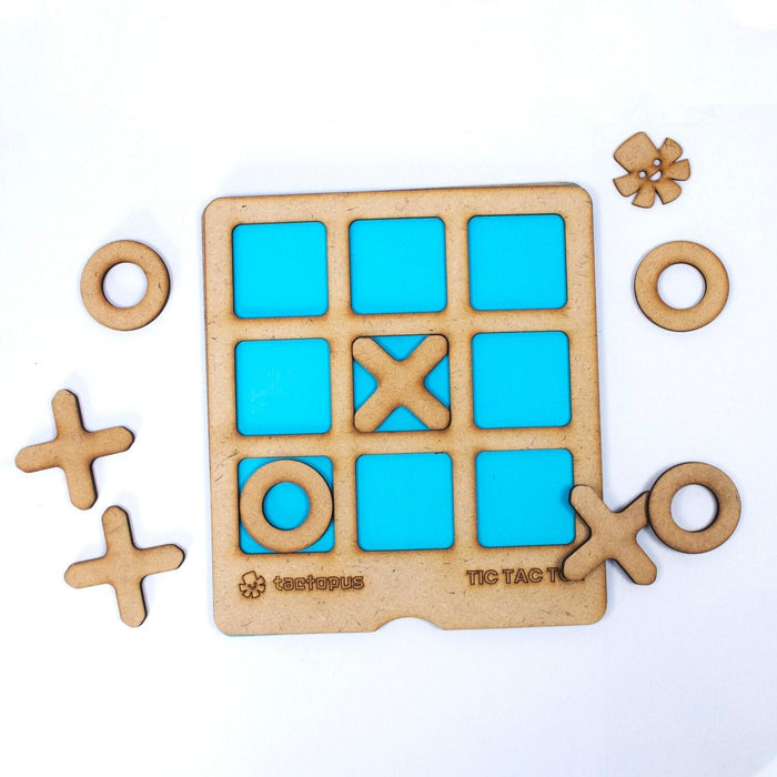 The Nestery: Tactopus - Noughts & Crosses