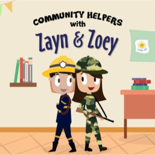 The Nestery: The Curiosity Club - Community Helpers With Zayn And Zoey