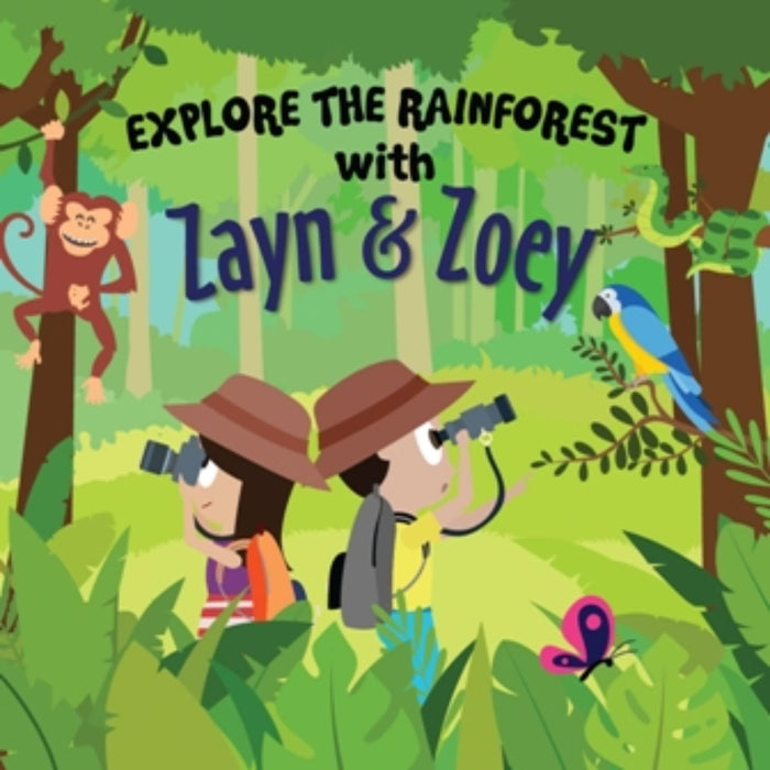 The Nestery: Zayn & Zoey - Explore The Rainforest With Zayn And Zoey