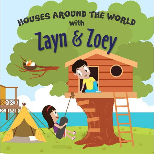 The Nestery: The Curiosity Club - Houses Around The World With Zayn And Zoey