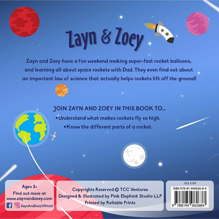 The Nestery: The Curiosity Club - Zayn And Zoey Learn About Rockets