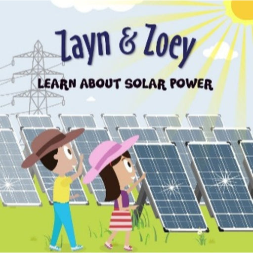 The Nestery: The Curiosity Club - Zayn And Zoey Learn About Solar Power