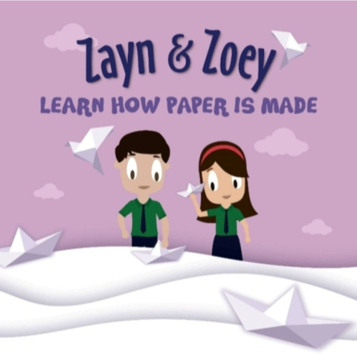 The Nestery: Zayn & Zoey - Zayn And Zoey Learn How Paper Is Made