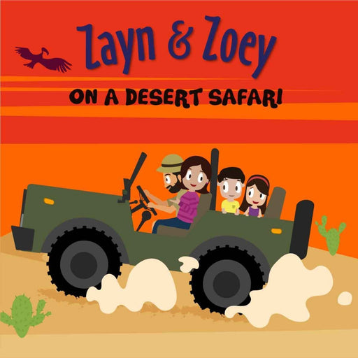 The Nestery: The Curiosity Club - Zayn And Zoey On A Desert Safari