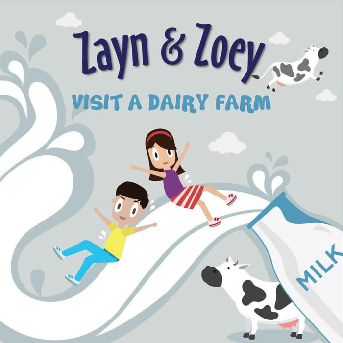 The Nestery: Zayn & Zoey - Zayn And Zoey Visit A Dairy Farm