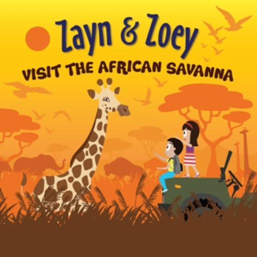 The Nestery: Zayn & Zoey - Zayn And Zoey Visit The African Savanna