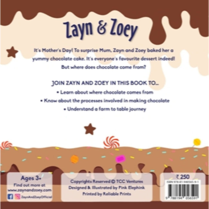 The Nestery: Zayn & Zoey - Zayn And Zoey Visit The Chocolate Factory