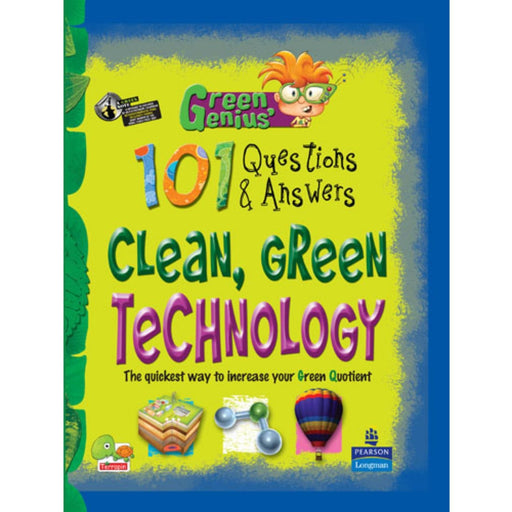 The Nestery : Teri Press - Green Genius's 101 Questions And Answers: Clean, Green Technology