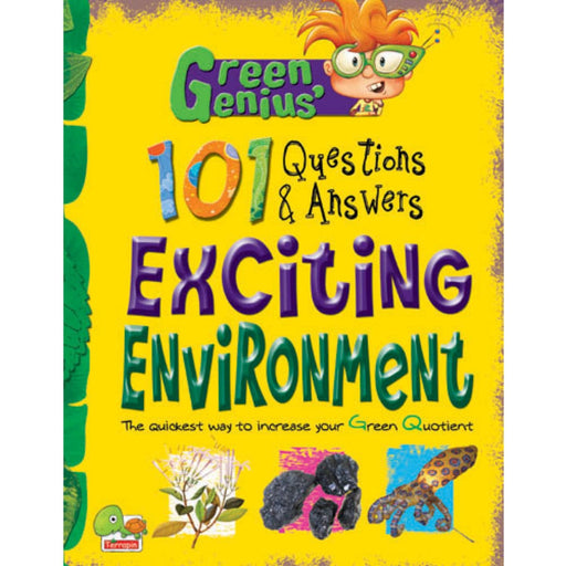 The Nestery : Teri Press - Green Genius's 101 Questions And Answers: Exciting Environment