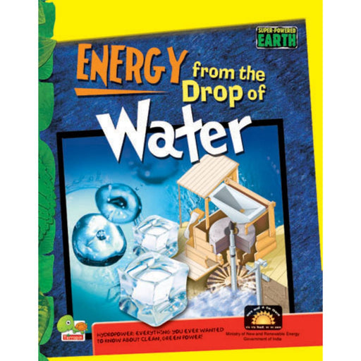 The Nestery : Teri Press - Super-Powered Earth: Energy From A Drop Of Water
