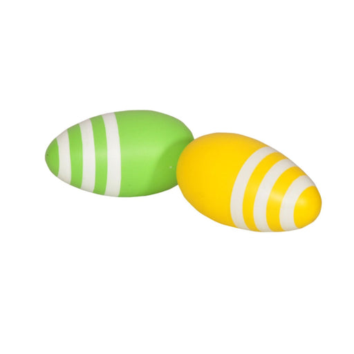 Wooden Egg Shakers (Coloured) By Thasvi