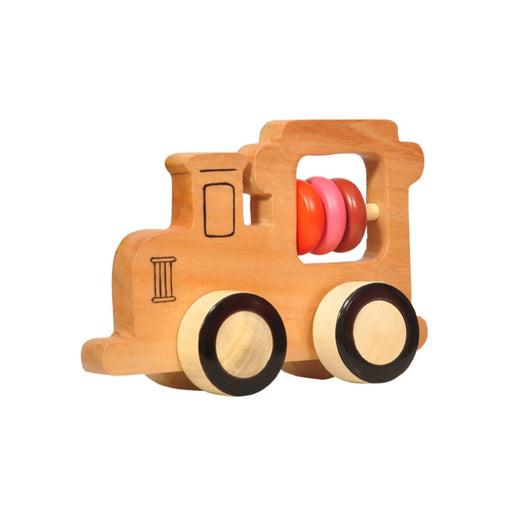 Wooden Train Push Toy By Thasvi
