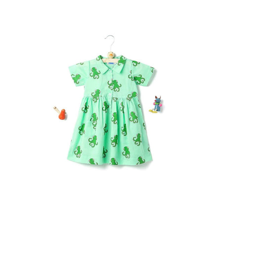 The Nestery: THE FOREST CHILD-COLLAR FROCK - OCTOPUS