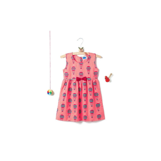 The Nestery: THE FOREST CHILD-SUMMER BOW FROCK - HOT AIR BALLOON