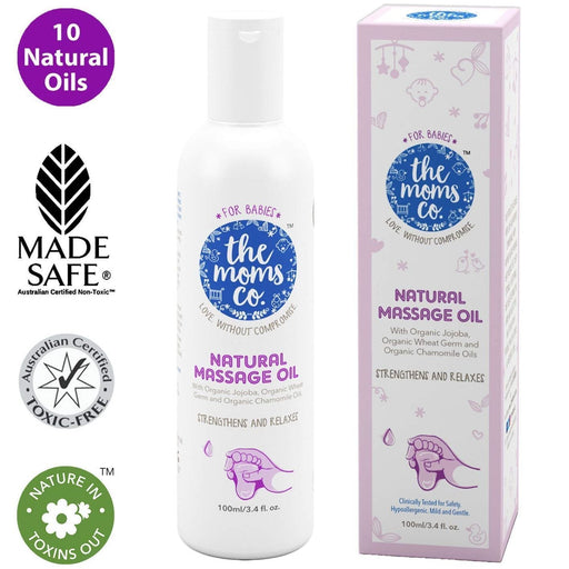 The Nestery: The Moms Co - Natural Baby Massage Oil