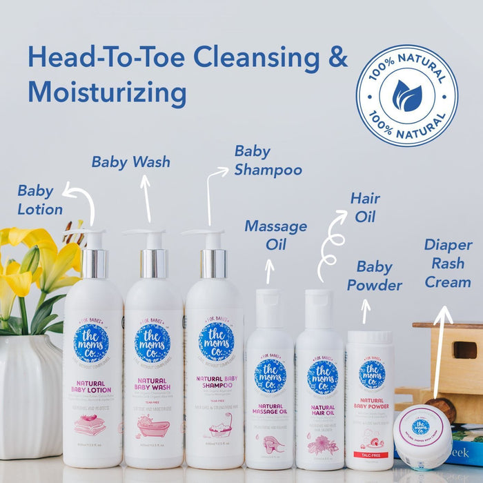 The Nestery: The Moms Co - Natural Baby Shampoo