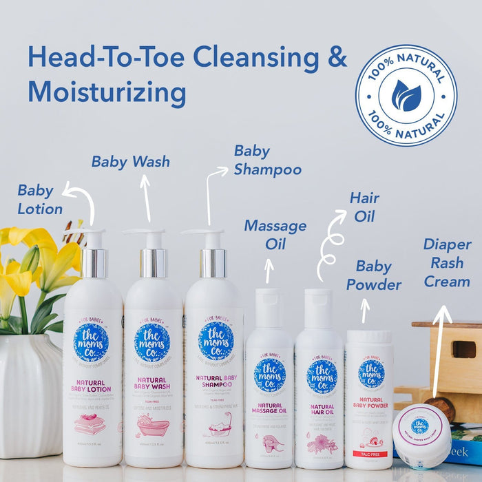 The Nestery: The Moms Co - Natural Baby Wash