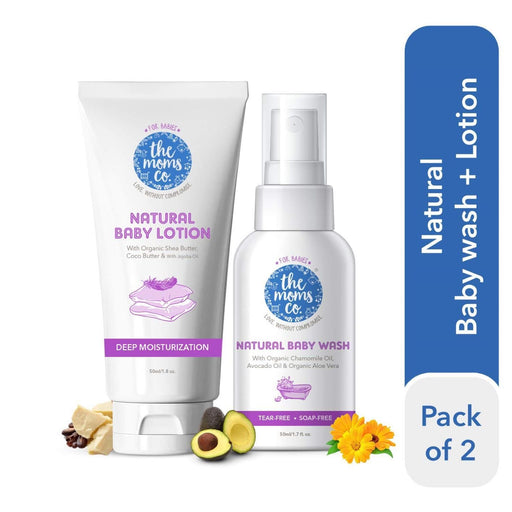 The Nestery: The Moms Co - Natural Baby Wash And Baby Lotion